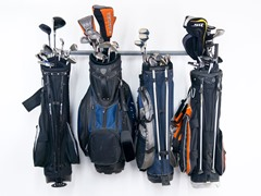 51-Inch Large Golf Bag Rack