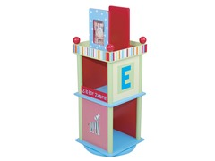 Alphabet Soup Bookcase
