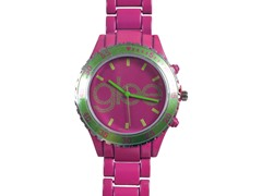 Standard Logo Watch - Pink Band