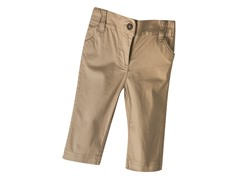 Infant Twill Pants - Khaki (3-6M/12-18M)
