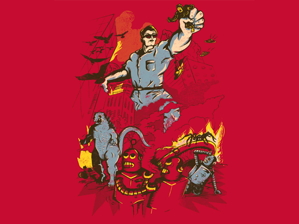 Attack of Man XQ01008a
