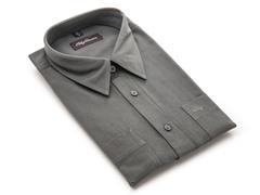 Oleg Cassini Men's Dress Shirt, Slate XXXL