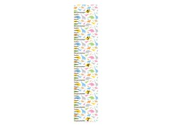 Peel & Stick Growth Chart - Color Dinos