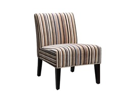 Sanibel Stripe Accent Chair