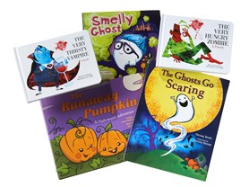 Halloween Hardcover Books 5-Pack