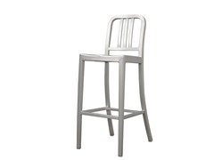 Aluminum Café Bar Stool
