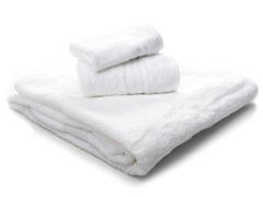 Supima Cotton Towel 3-Piece Set-White