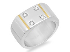 Men's 18kt Plated Ring