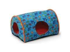 Kitty Camper Indoor Cat Bed - Fish Print