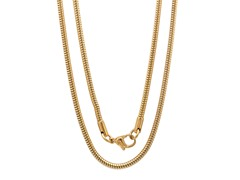 18kt Gold Plated Snake Necklace Chain