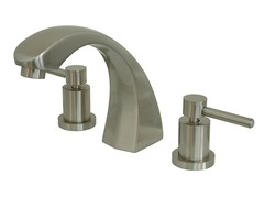 Roman Tub Filler Faucet, Nickel