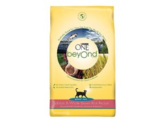 Purina One Beyond Cat Food - Salmon & Brown Rice, 3lb