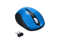 Optical 3-Button Wireless Mouse - Blue