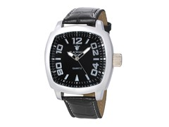 Square Watch, Black