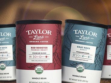 Taylor Lane Organic Whole Bean Coffee