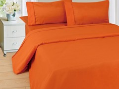 Lavish Home Sheet Set - Rust - 4 Sizes
