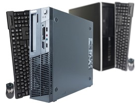 HP & Lenovo AMD A4 500GB SFF Desktops