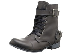 Sargeant Boot, Grey Leather