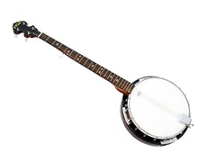 5 String Banjo w/Chrome Plated Hardware
