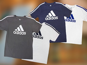 Adidas Boys 2-Pack Tees