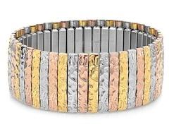 Tri-Color Stretch Bracelet