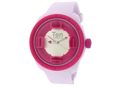 Ten Beats 3H Pink/Red Watch