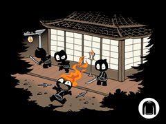 Unstealthiest Ninja Crewneck Sweatshirt