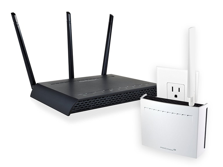 Amped Wireless Wi-Fi Router + Range Extender
