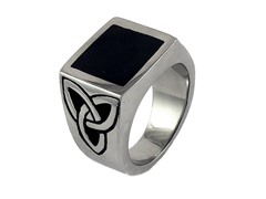 SS Black Ion Plated Top Ring