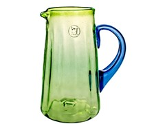 Hand Crafted Luster Green Pitcher