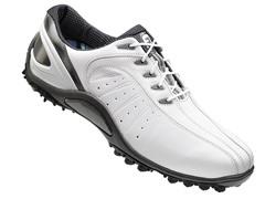 FJ Sport Spikeless Golf Shoe - White