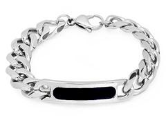 Cuban Bracelet w/ ID Plate & Polish