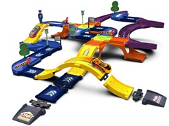 46-Pc 3D Race Track Set