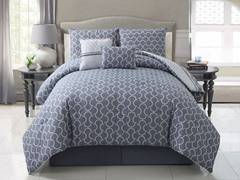 Hawthorne 5pc Reversible Comforter Set - 2 Sizes