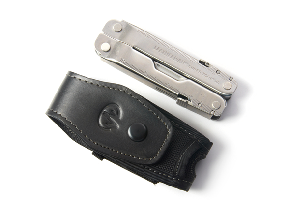 how to close leatherman super tool