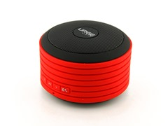 Sound Disc Bluetooth Speaker - Red & Black