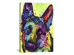 iCanvasART German Shepherd