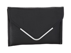 BCBG Nadia Envelope Clutch, Black