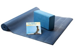 Gaiam Living Arts Yoga Starter Kit