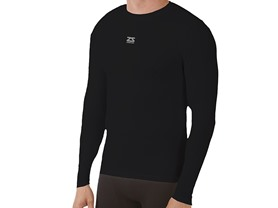 Zensah Seamless Long Sleeve Compression Shirt