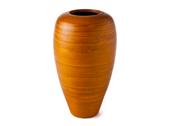 Curved Bamboo Vase - Squash
