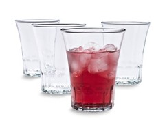 Duralex Set of 4 Almalfi Tumblers, 7.5 oz.