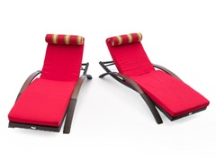 RST ARC Lounger w/ Mattress & Pillow (2-Pack)