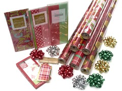 Red Holiday Wrap Assortment