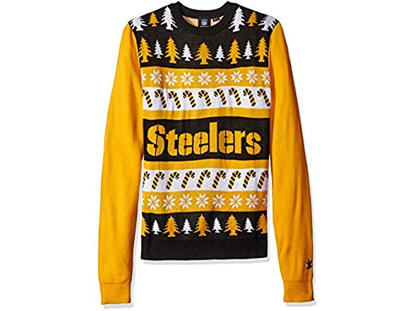 new products 39be0 dcd47 FOCO NFL Wordmark Sweater