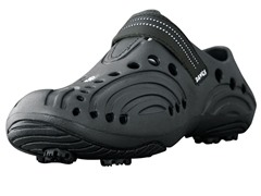 Dawgs Black Golf Shoes (Youth Sizes)