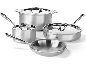 7-Pc. All-Clad Stainless Steel Cookware Set