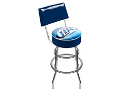 Miller Lite Padded Bar Stool w/ Back