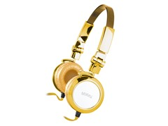 MiiBling Stereo Headphones - Gold