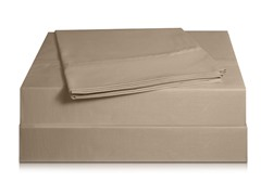 810TC Pima Sateen Sheet Set-Taupe-3 Sizes